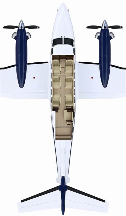 King Air Beechcraft Aircraft Cabin C90 Fleet