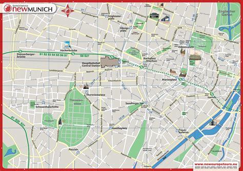 Carte De Pdf by Plan Gratuit De Munich Pdf 224 T 233 L 233 Charger