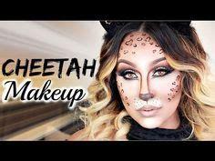 leopard makeup cheetah makeup cat makeup halloween cheetah