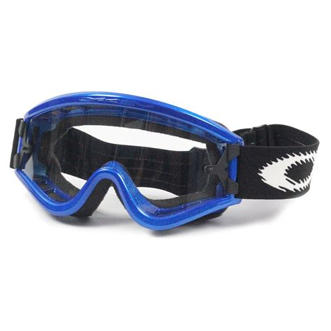 motocross goggles for glasses oakley new mx l frame blue over the glasses otg motocross