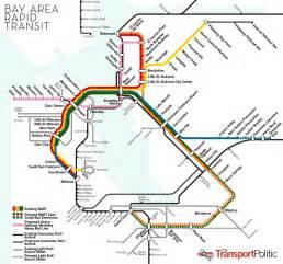 Bart Map Bay Area Rapid Transit