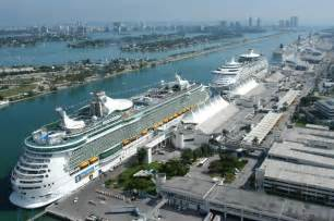 Cruise Ship Port Miami Terminal