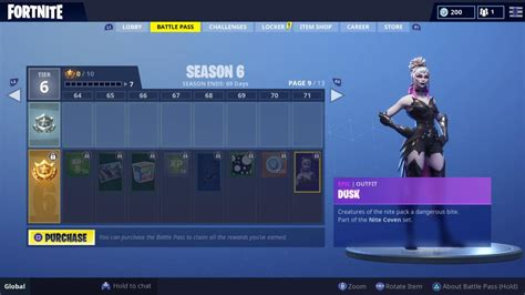 fortnite season  battle pass skins calamity dire dusk