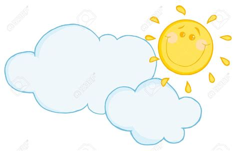 Sun And Clouds Clipart Free Download Clip Art