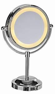 Wc Spiegel Mit Beleuchtung : spiegel kosmetikspiegel mit led beleuchtung schminkspiegel vergr sserungsspiegel haushalt bad wc ~ Frokenaadalensverden.com Haus und Dekorationen