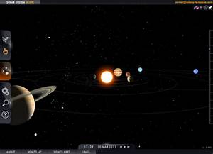 Solar System Scope - An Interactive 3D Model Of The Solar ...