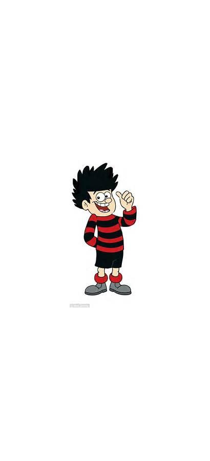 Dennis Menace Striped Jumper Nicky Cartoon Trousers