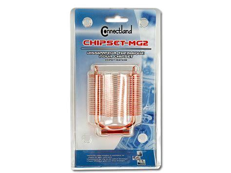 dissipateur thermique a deux heatpipes pour chipset