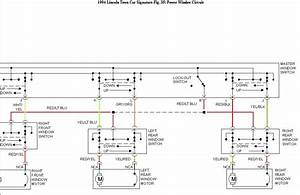 2003 Lincoln Town Car Power Window Wiring Diagram