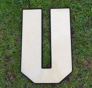 Acrylic channel letter u letter crafts pinterest for Acrylic letters for crafts