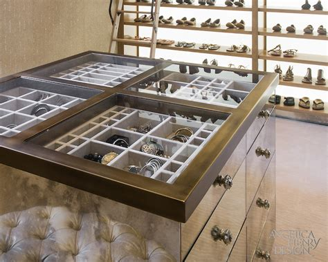 jewelry island for closet glass top closet island with jewelry drawers