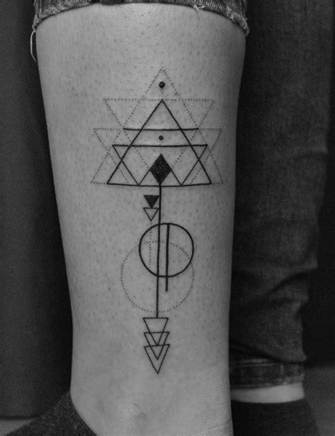 Geometric/Linework Tattoo