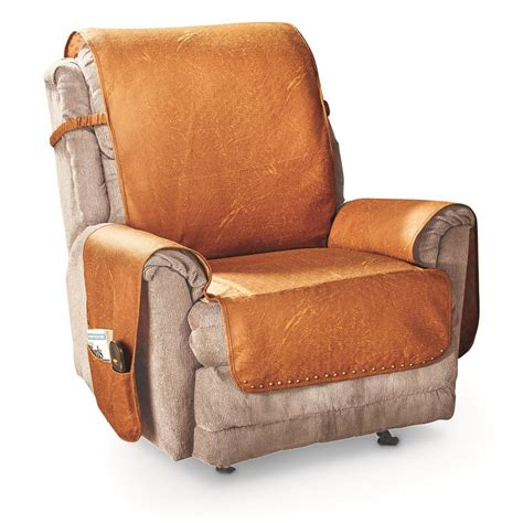 Leather Chair Covers For Sale by Faux Leather Recliner Cover 666210 Furniture Covers At