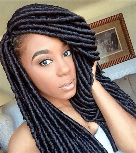 10 Attractive Faux Locs Crochet Hair   New Natural Hairstyles