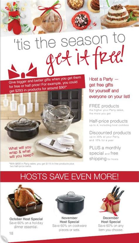 christmas ideas catalogues 17 best images about pered chef ideas on free items cranberry