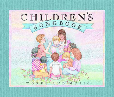 Children's Songbook (words And Music)  Deseret Book