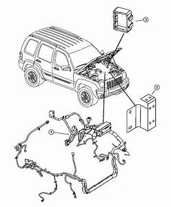 2007 Jeep Liberty Wiring  Headlamp To Dash    Security