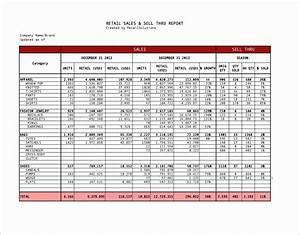 Restaurant Sales Forecast Excel Template 5 Weekly Sales Report Template Excel Exceltemplates