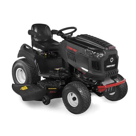 troy bilt xp bronco 54 26 hp v hydrostatic 54 in lawn mower with mulching