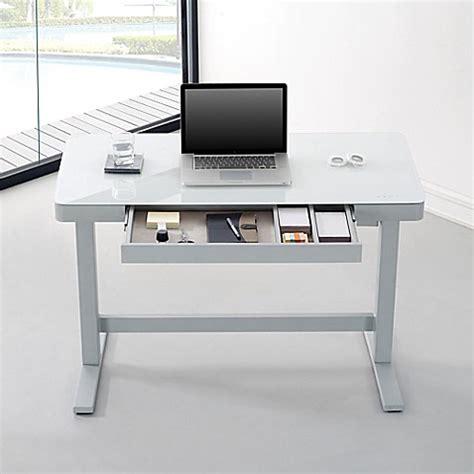 bell o adjustable height desk bell 39 o adjustable height desk bed bath beyond