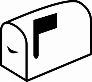 Mailbox With Flag Clip Art at Clker.com - vector clip art ...