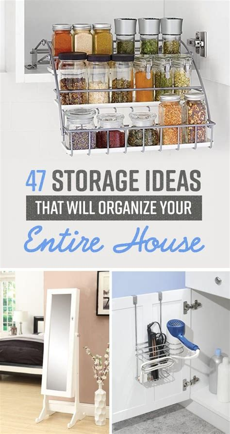 clever storage ideas for small houses home organization ideas 47 insanely clever storage ideas 9425