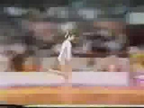 Comaneci 10 Vault by Comaneci 1976 Olympic Gold Balance Beam Routine