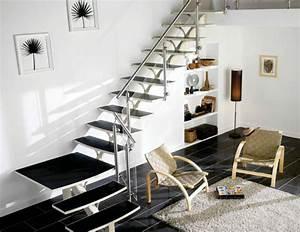 Rampe Escalier Lapeyre : le meilleur escalier pour votre salon ~ Carolinahurricanesstore.com Idées de Décoration
