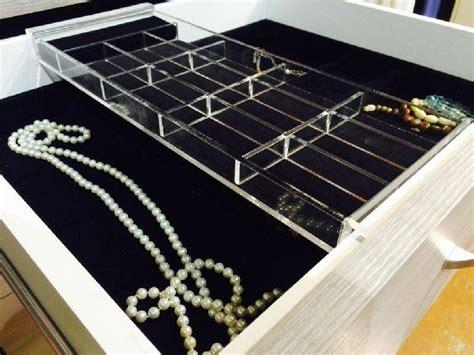 october company jewelry tray acrylic insert closet