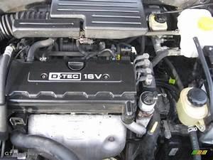 2006 Suzuki Forenza Wagon 2 0l Dohc 16 Valve Inline 4