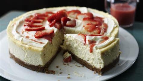 how to make cheese cake bbc food cheesecake recipes