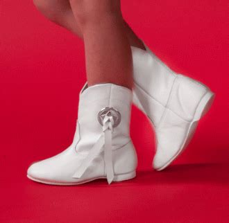 happy dancin boots white star flexor