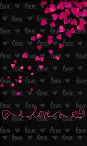 Cell phone Wallpaper / Background. | Cell Hearts,Love ...