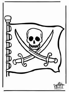 Piraten Flagge Ausmalbilder Briges