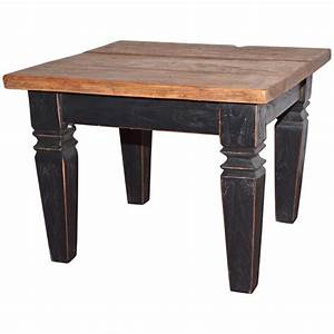 rustic wood end or coffee table for sale at 1stdibs With rustic wood coffee table for sale