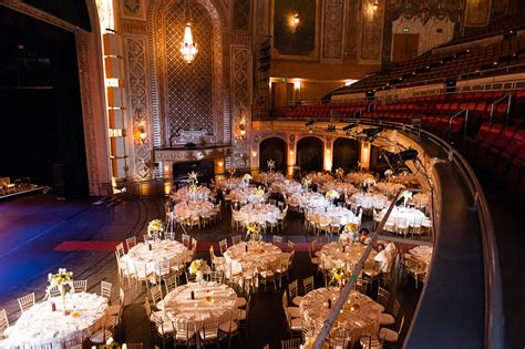 seattle paramount theatre wedding venue  solomon event