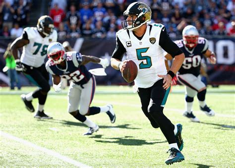 Three Jaguars With Somthing To Prove Against The Carolina