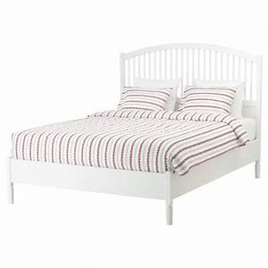 Lit 160 Ikea : tyssedal cadre de lit blanc leirsund 160 x 200 cm ikea ~ Teatrodelosmanantiales.com Idées de Décoration