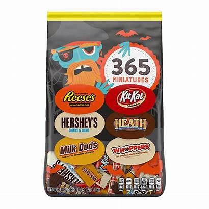 Hershey Miniatures Snack Pieces Bag Halloween Assortment