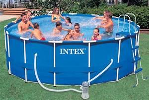 Piscine Tubulaire Intex : piscine autoportee intex ~ Nature-et-papiers.com Idées de Décoration