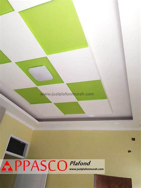 atap plafon modern minimalis  grc model baki warna