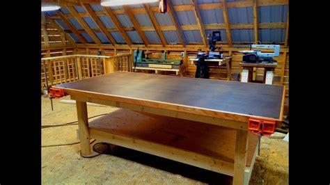 woodwork wood shop table  plans