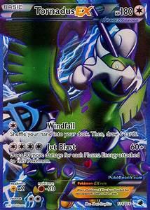Tornadus EX Full Art -- Plasma Freeze Pokemon Card Review ...