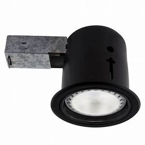Lithonia lighting in matte white recessed gimbal