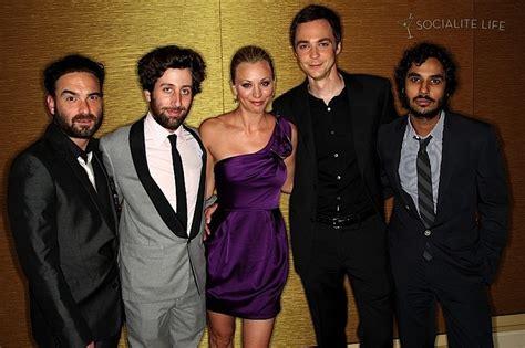 the cast of 39 the big bang theory 39 the 2009 tca 39 s the