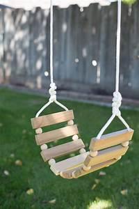 DIY Tree Swing for Kids & Adults