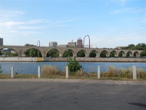 mill ruins park at arch bridge picture of