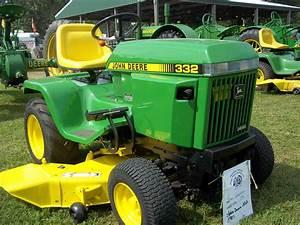 John Deere 332 Garden Tractor Manual