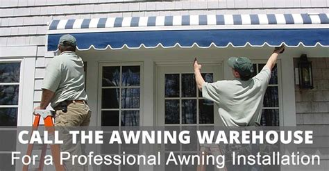 expert retractable awning installation  professional