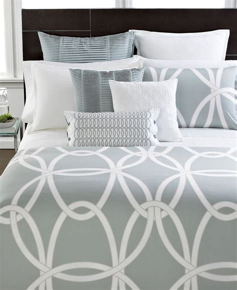 Macys Hotel Collection Bedding by Hotel Collection Modern Gate King Duvet Cover